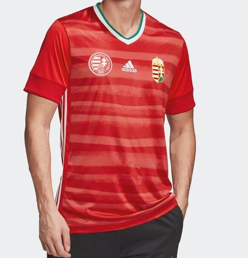 Hongrie Euro 2020 maillot de foot domicile officiel Adidas