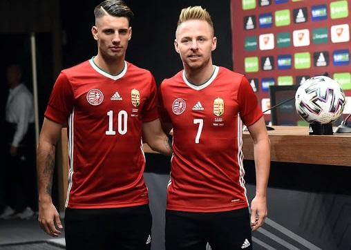 Hongrie Euro 2020 maillot de foot domicile