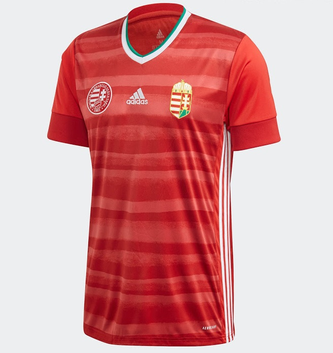 Hongrie Euro 2020 maillot domicile football