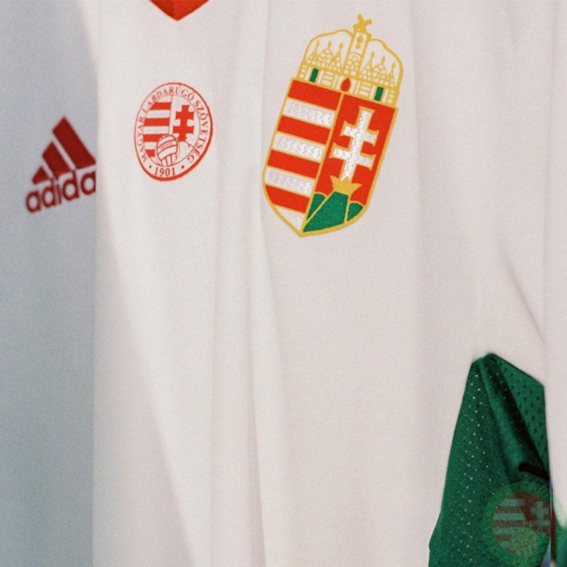 Hongrie Euro 2020 maillot exterieur foot