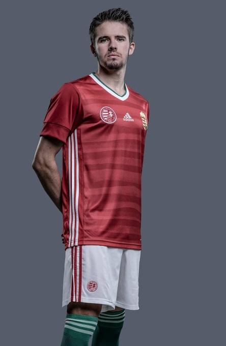 Hongrie Euro 2020 nouveau maillot de foot domicile