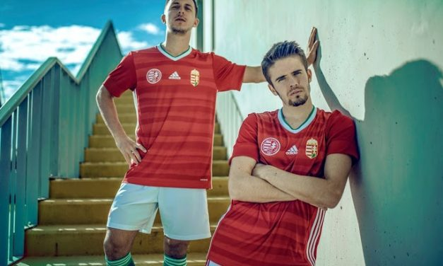 Nouveaux maillots de foot Hongrie Euro 2020