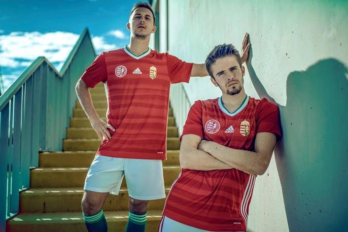 Hongrie Euro 2020 nouveau maillot domicile
