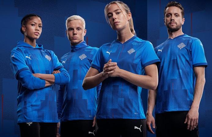 Islande 2020 maillot domicile foot officiel