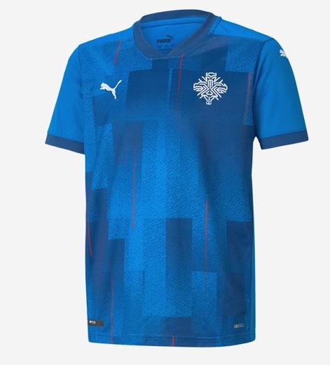 Islande 2020 maillot domicile football Puma