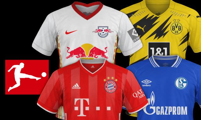 maillots Bundesliga 2020 2021
