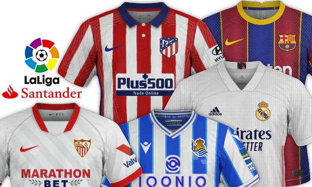 maillots de foot LaLiga 2020 2021