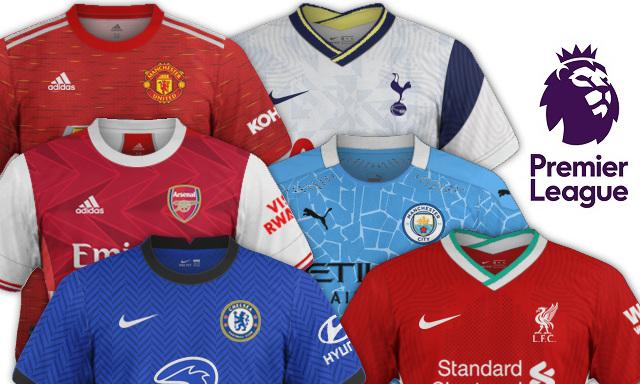 maillots premier league 2020 2021