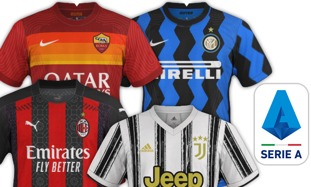 maillots serie a 2020 2021