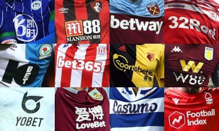 La domination des sites de jeu dans le sponsoring des maillots de football