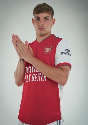Arsenal 2022 maillot domicile
