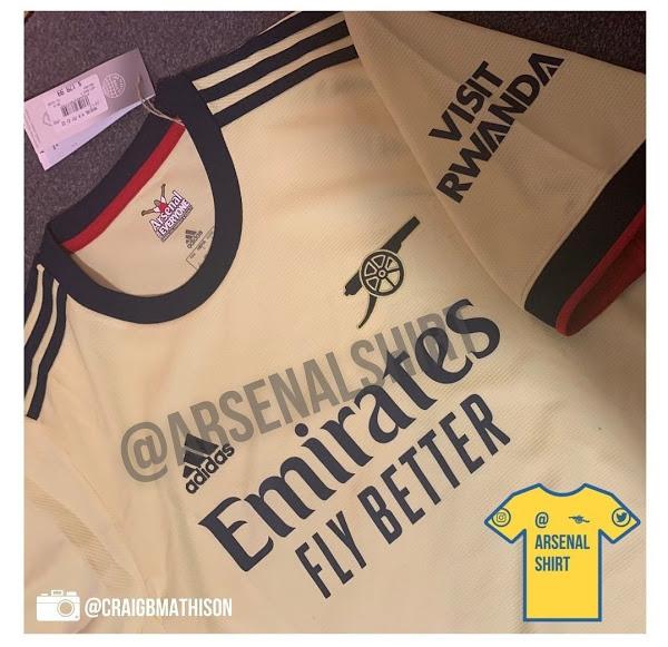 Arsenal 2022 maillot exterieur football Adidas