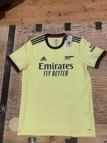 Arsenal 2022 nouveau maillot exterieur 2021 2022