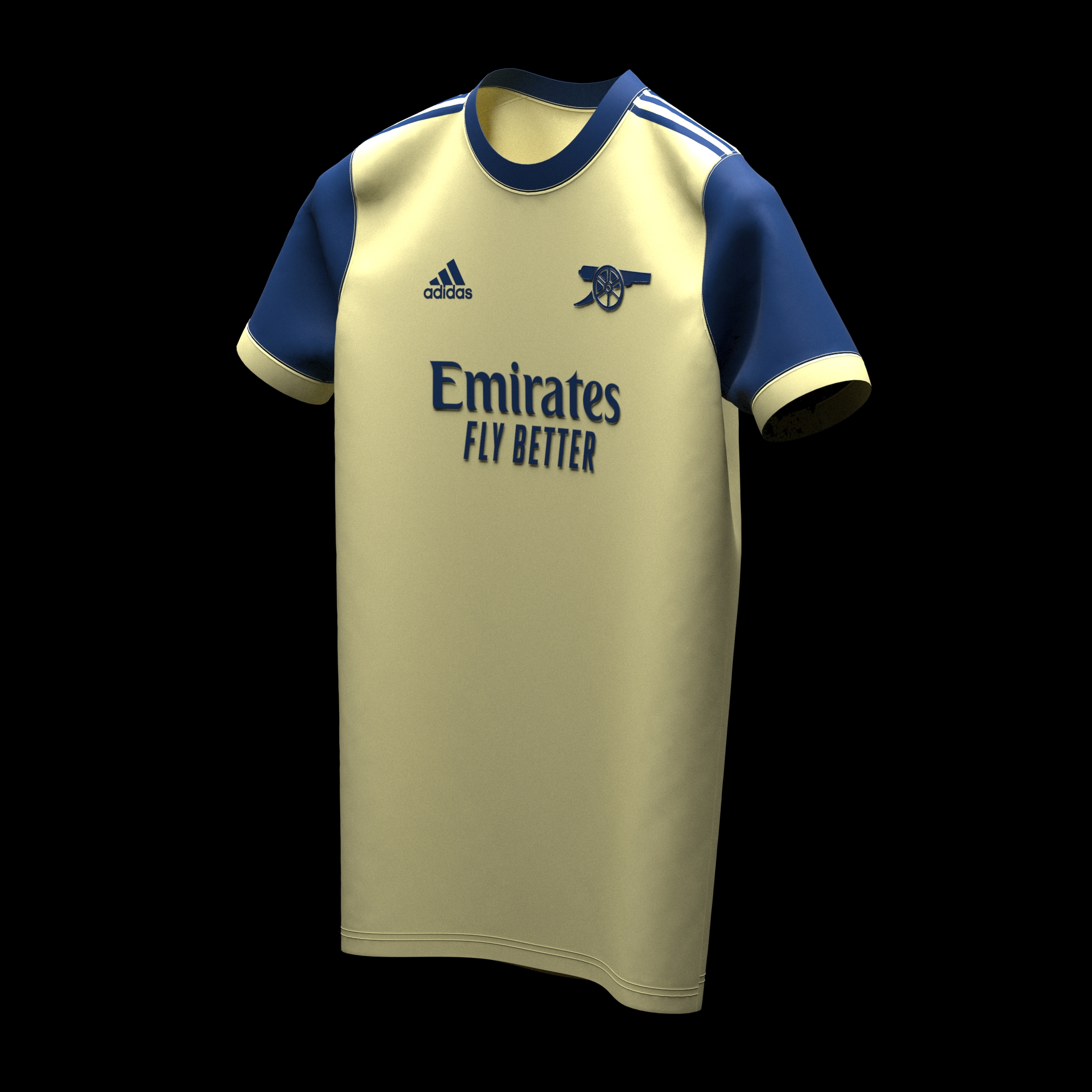 Arsenal 2022 possible maillot exterieur prediction