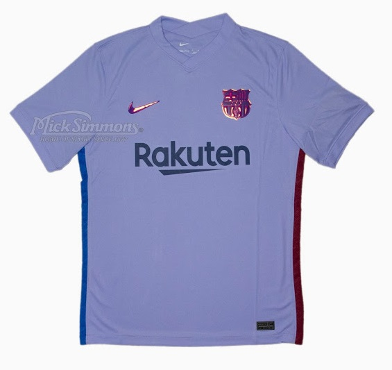 Barcelone 2021 maillot de foot exterieur
