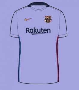 Barcelone 2022 maillot exterieur possible