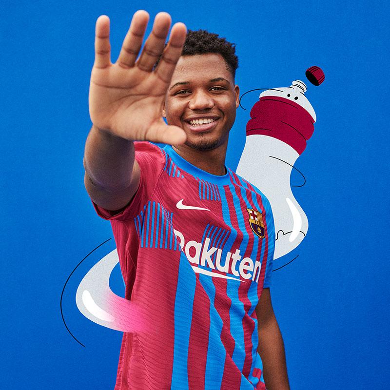 Barcelone 2022 nouveau maillot domicile foot Nike