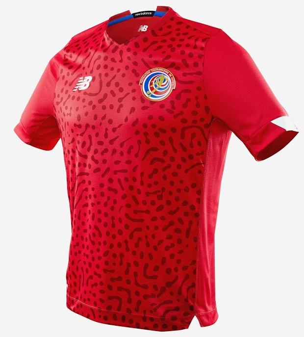 Costa Rica 2020 maillot domicile 2021