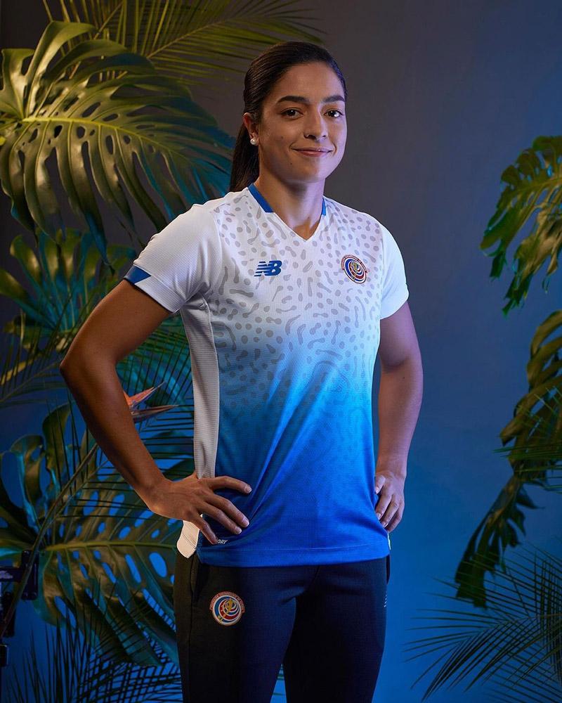 Costa Rica 2021 maillot de football exterieur