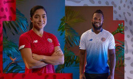 Costa Rica 2021 les nouveaux maillots par New Balance