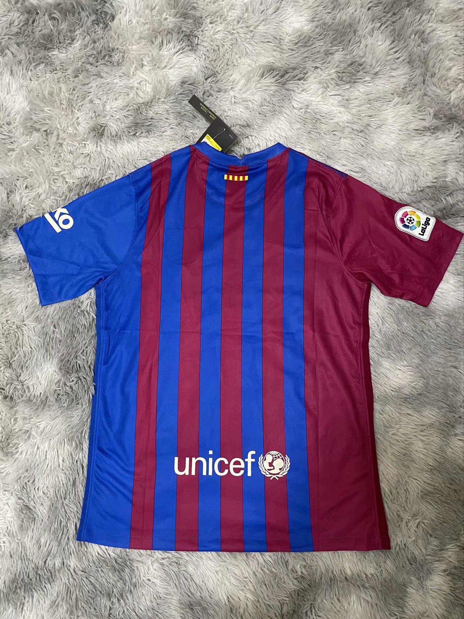 FC Barcelone 2022 dos nouveau maillot domicile foot 21-22