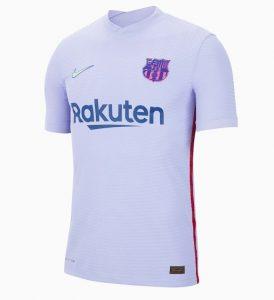 FC Barcelone 2022 maillot exterieur officiel