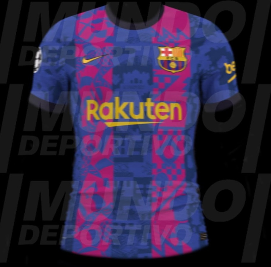 FC Barcelone 2022 maillot foot ligue des champions