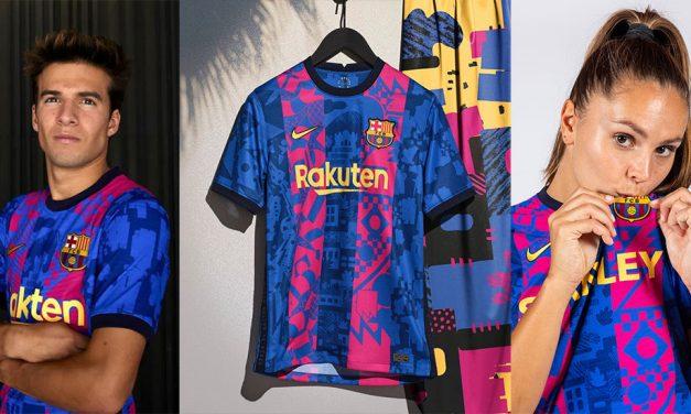 Les nouveaux maillots de foot FC Barcelone 2022 avec Nike
