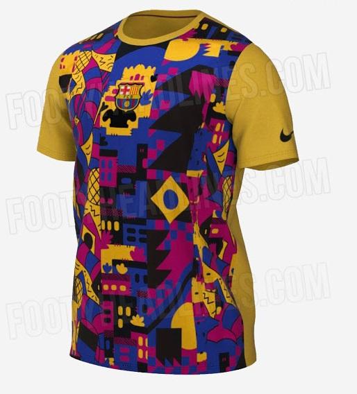 FC Barcelone 2022 nouveau tshirt