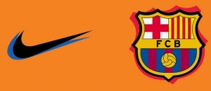 FC Barcelonne 2022 quatrime maillot couleur orange