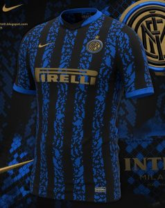 Inter Milan 2022 possible maillot domicile foot