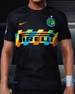 Inter Milan 2022 possible maillot third prediction Nike