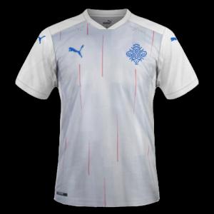 Islande 2020 maillot de foot exterieur