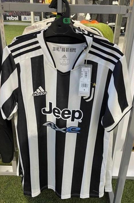 Juventus 2021 2022 nouveau maillot de football domicile