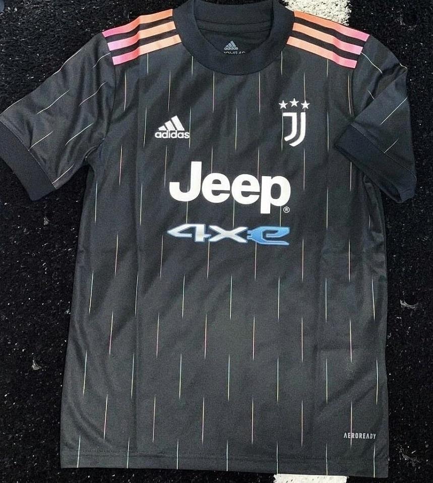 Juventus 2021 nouveau maillot de foot exterieur 21-22