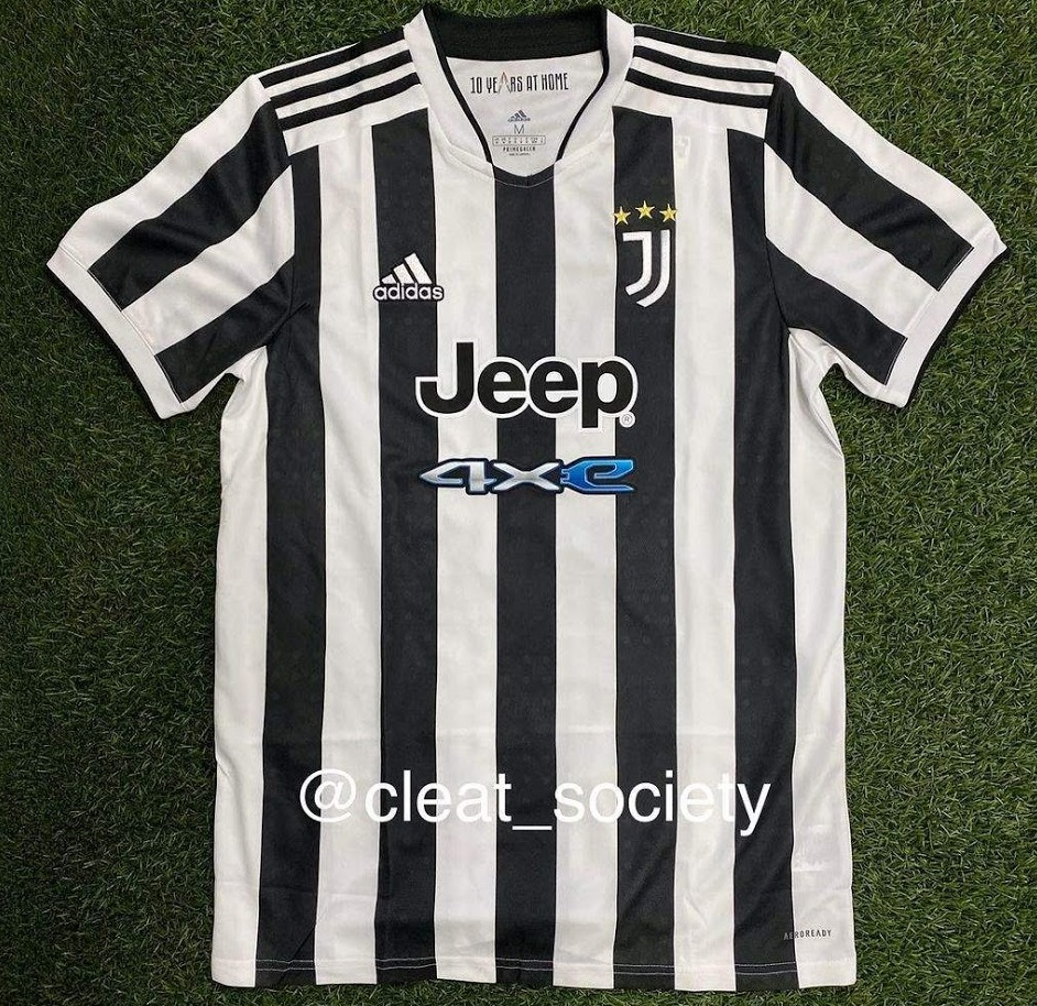 Juventus 2022 nouveau maillot de foot domicile
