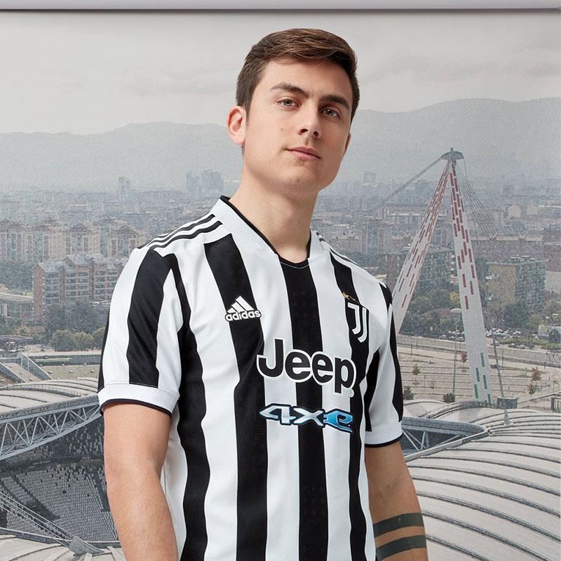Juventus 2022 nouveau maillot domicile Dybala 21 22