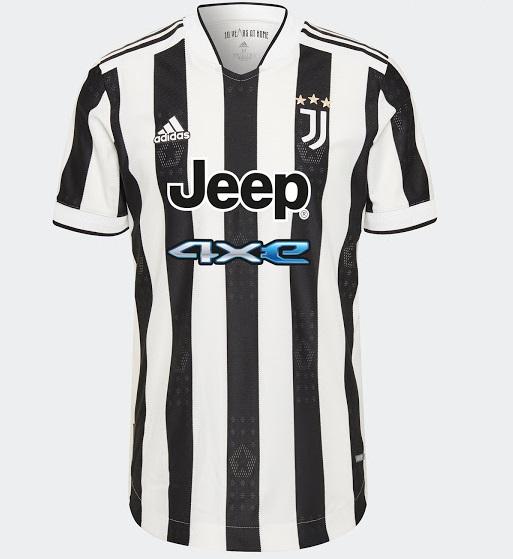 Juventus 2022 nouveau maillot domicile officiel