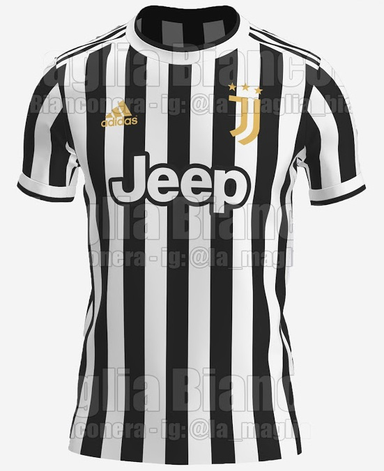 Juventus 2022 possible maillot domicile