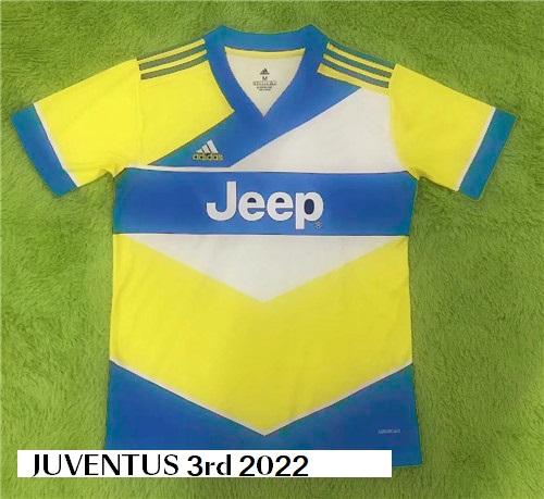 Juventus 2022 troisieme maillot third faux mais vrai design