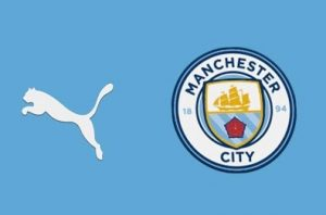 Manchester City 2022 couleur maillot domicile football