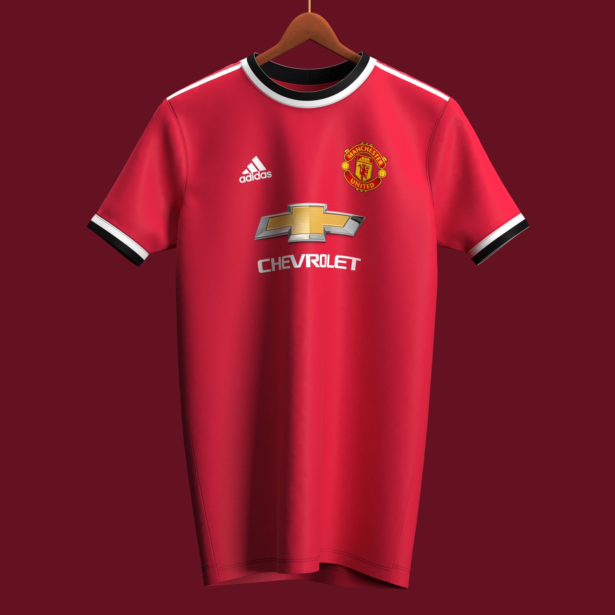Manchester United possible maillot foot domicile 2021 2022