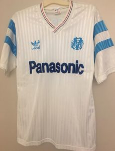Marseille 89-90 maillot inspiration 2022