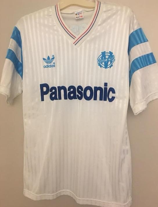 Marseille 89 90 maillot inspiration 2022