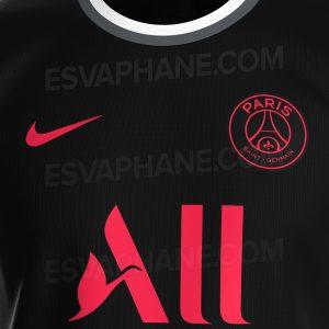 PSG 2022 couleurs 3eme mailllot third probable Paris