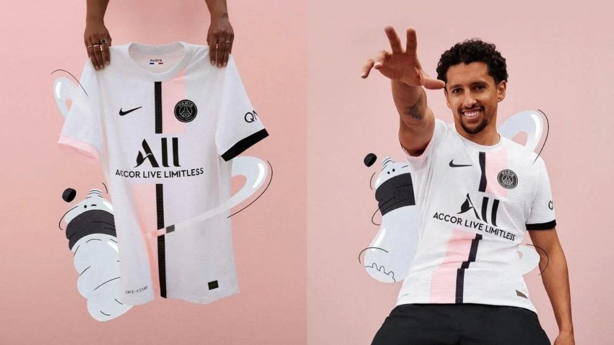 PSG 2022 maillot exterieur Nike officiel