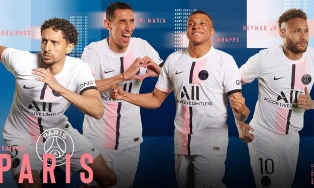PSG 2022 les nouveaux maillots de foot Paris 2021-2022