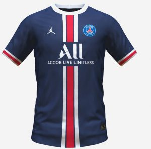 PSG domicile 2022 possible maillot foot