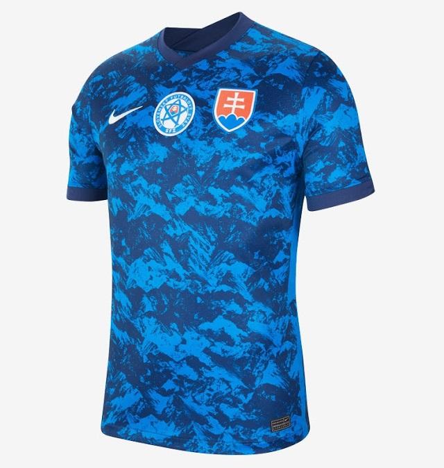 Slovaquie Euro 2020 maillot de foot domicile