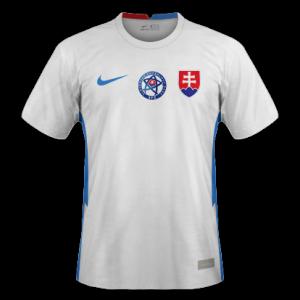 Slovaquie Euro 2020 maillot de foot exterieur
